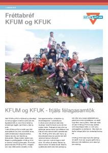 Fréttabréf KFUM og KFUK jún 2012 forsíða