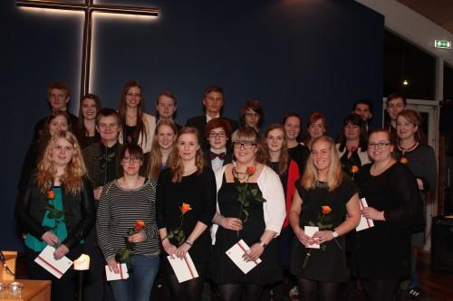 Hátíðar- og inntökufundur 2014