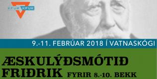 Tilkynning: Æskulýðsmótið Friðrik – heimför frestað vegna veðurs