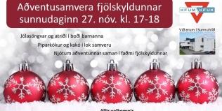 Aðventusamvera á Akureyri