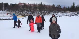 Fjölskylduflokkur í Vatnaskógi 10.-12. febrúar
