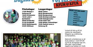 Vorferð YD KFUM og KFUK í Vatnaskóg