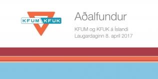 Aðalfundur KFUM og KFUK á Íslandi 8. apríl