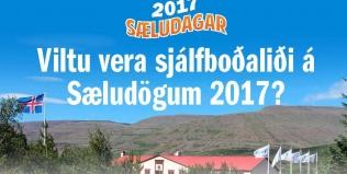 Sjálfboðaliðar óskast á Sæludaga