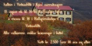 Kaffisala í Vindáshlíð