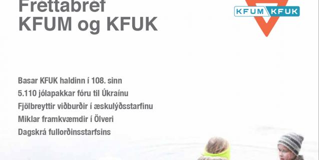 Fréttabréf KFUM og KFUK í janúar