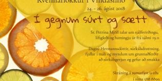 Kvennaflokkur í Vindáshlíð – Í gegnum súrt og sætt