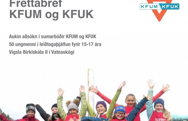 Fréttabréf KFUM og KFUK í október