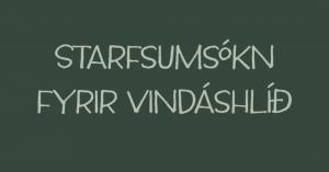 Starfsumsókn fyrir Vindáshlíð