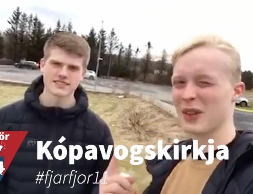 Kópavogskirkja býður upp á #fjarfjor11